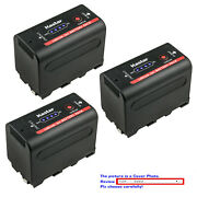 Kastar Np-f780 Battery Replace For Sony Np-f770 Sony Gv-d800 Gv-d900 Gv-hd700e