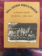 94th Aero Squadron 1st Pursuit Group Air Service Toul France Menu 70s French Old