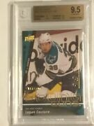 2009 10 Upper Deck Logan Couture Young Gun Exclusives Rookie Bgs 9.5 Rc /100 Yg