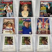 Lot Of 7 Princess Diana And The Royal Family Books Magazines And More William L6
