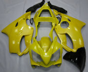 Aftermarket Yellow Fairing Kit For Honda Cbr600f4i 2001 2002 2003 Abs Injection