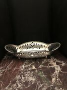 Authentic Early 1900's And Co. Sterling Silver Pierced Candy/nut Bowl