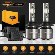 Auxbeam T1 9005 Hb3 9145 9140 Led Headlight 70w 8000lm Bulbs With Canbus Decoder