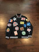 Supreme 2007 Ncaa Varsity Jacket Extremely Rare Virgil Patches