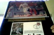 Mark Mcgwire 70 Home Run Authentic Cachet St. Louis 9-27-1998 And Usps Stamp