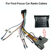 Car Stereo 20 Pin Wiring Harness Connector Adapter 1 Or2din Power Cable For Ford