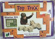 Top Trax Game First Spinning Top Construction Toy Wood Building Set Starter Kit