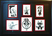 Grateful Dead Original Art By Tim Truman. 6 Illustrations From Deadopoly Game