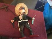 Vintage Mexican Marionette String Puppet