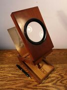 Superb Late 19th Century French Graphoscope By Jules Hautecoeur And 9 Photo Cards