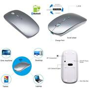 Quiet Wireless Bluetooth Mouse Rechargeable - Tsmine Mini Gaming Mouse Computer