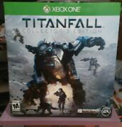 Titanfall Collectorand039s Edition Limited Exclusive Collectible Figure Byandnbspxbox One