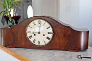 Vintage Junghans Mantle Clock With Pendulum W278 Movement With Key Germany