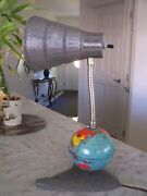 Very Rare Vintage 60's 1st Us Manned Flight Space Table Lamp Hard To Find