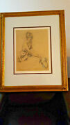Louis Icart - Blonde With Blue Bonnet - Very Rare Ltd Edition Mixed Media Litho