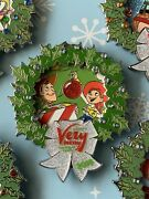 Disney Mickey's Very Merry Christmas Party 2018 Pin Toy Story Woody And Jessie New