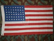 Flag State States Embroidered Cotton Old Glory Us Flag 48 Stars And Stripes