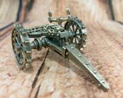 Scarce Uno A Erre 925 Sterling Silver Talian Buggie Horse Carriage Cart Hitch