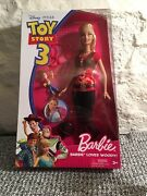 Disney Pixar Toy Story 3 Barbie Loves Woody And Buzz