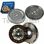 Nationwide 2 Part Clutch Kit And Sachs Dmf For Vw Caddy Box 1.9 Tdi 4motion