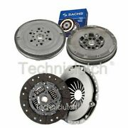 Nationwide 2 Part Clutch Kit And Sachs Dmf For Opel Astra Saloon 2.0 Dti 16v
