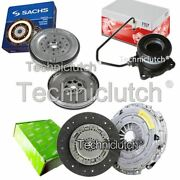 Valeo Clutch And Sachs Dmf With Fte Csc Fits Alfa Romeo 159 Berlina 1.9 Jtdm 16v