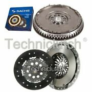 Nationwide 2 Part Clutch Kit And Sachs Dmf For Volvo S40 Berlina 1.9 T4