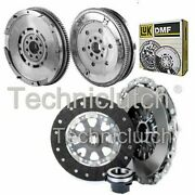 Nationwide 3 Part Clutch Kit And Luk Dmf For Bmw 5 Series Berlina 525i