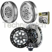 Nationwide 3 Part Clutch Kit And Luk Dmf For Bmw 3 Series Hatchback 318 Ti