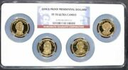 2008-s Proof Presidential Dollars Pf 69 Ultra Cameo