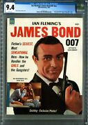 James Bond 007 Nn Dell 1964 Cgc 9.4 White Pages Sean Connery Bond Awesome