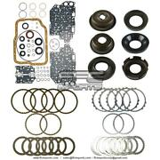 4f27e Master Rebuild Kit 2000-up Ford W/ Pistons Gaskets Friction Steel Plates