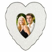Lenox Picture Frame, Opal Innocence Heart 10 X 9 Fits 4 X 6 Photo