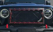 2018 Jeep Wrangler Jl, Brute Machined Grille Insert