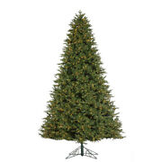 12and039 Deluxe Trinity Pine Prelit Led Artificial Christmas Tree