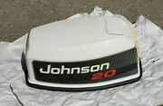 Vintage Omc Johnson 20 Hp 1992-1993 Outboard Motor Top Cowling Hood