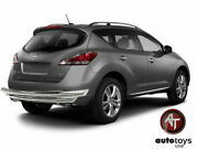 Atu 15-19 Fits Nissan Murano Stainless Double Layer Rear Bumper Guard