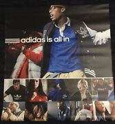 Adidas Is All In Katy Perry, David Beckham, Lionel Messi Vinyl Banner Poster