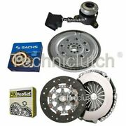 Luk 2 Part Clutch And Sachs Dmf With Csc For Citroen Ds3 Convertible 1.6 Thp 150