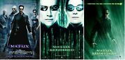 The Matrix Trilogy Movie Poster Collection Bundle Set Of 3 - New - Usa