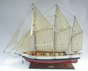 Christmas Tree Rouse Simmons Tall Ship Model 37 Handcrafted Wooden Model New