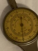 Nautical Map Measure Compass Pencil Miles To Inches Made In Germany Opisometer