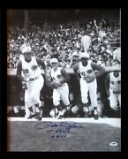 Pete Rose Signed 16x20 Photo 1st Game 4-8-63 Auto Reds Framed Psa Dna Coa