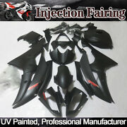 Black Fairing Kit Fit For Yamaha Yzf R6 2008-2016 Abs Injection Body Work + Tank