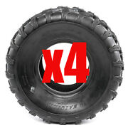 4x 4ply 19 X 7 - 8 Inch Front Knobby Tyre Tire Quad Dirt Bike Atv Buggy 150cc