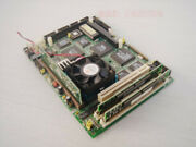 Advantech Embedded Industrial Control Board Pcm-5860 Rev.a2 With Cpu Memory 586