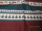 Vintage Oop Daisy Kingdom Toy Store Christmas Cotton Fabric 1996 3 Yards Total