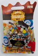 Disney 2018 Mnsshp Le 5450 Chip And Dale Party Candy Bowl Spinner Pin New On Card