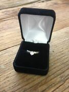 Mike Castagno Cubic Zirconia Sterling Silver Rings Western Solitaire Wedding
