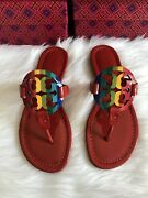 Nib Limited Edition Rainbow Millers - Ruby Red - Mult. Sizes- Sandals